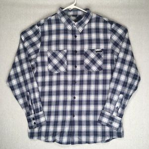 Oakley NWT long sleeve button up flannel shirt L